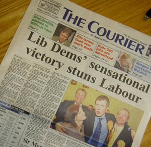 Inside Westminster: Lib Dems Trounce Labour in Brown's Back Yard