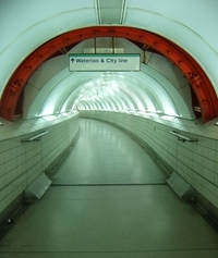 waterloo and city line tunnel