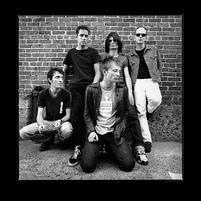 Radiohead in black and white