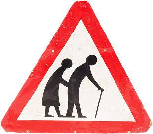 Beware - Elderly Terrorists Crossing!