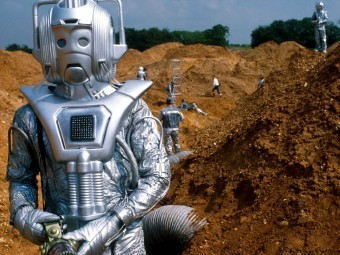 The Cybermen are back in Doctor Who this week (Sat 7pm BBC1) but we're too lazy to write about it in full so we're telling you via the medium of the alt tag instead, sorry about that