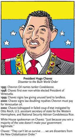 Ooh ah, Chávez  no se va