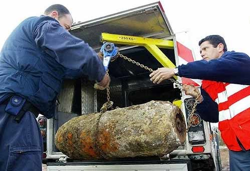 Unexploded Bomb Closes Airport