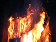 """""""Huge"""" Fire In East London"""