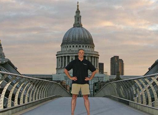 Swim Turns Into Run For Thames Adventurer