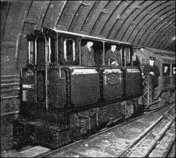 City and South London railway train