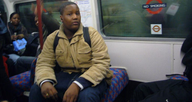 Blogger Photographs Tube Assailant