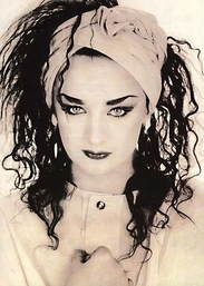 Boy George - there is no reason we've used this