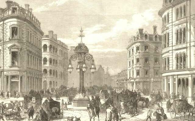 Southwark Street in 1865