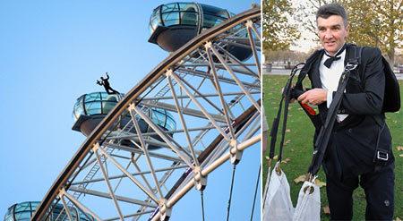 Vinnie Jones-Russ Abbott  Lovechild Jumps Off London Eye