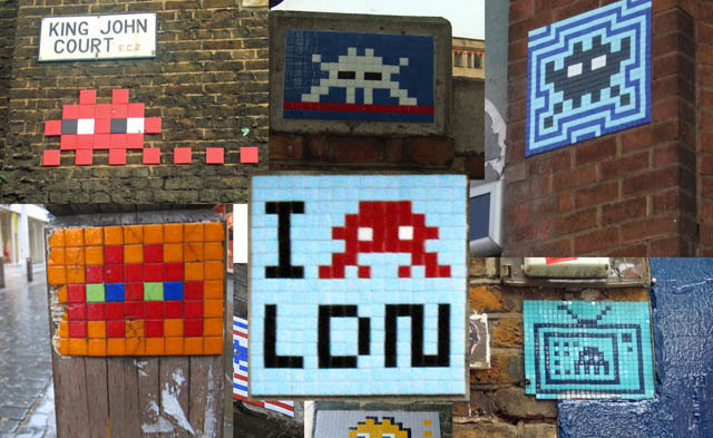 Random Graffiti of the Week: Space Invaders!