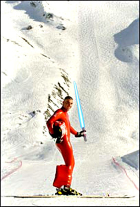 Jedi Skier vs. The Empire