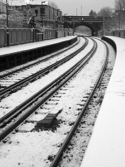 Commuters Abandoned In The Snow