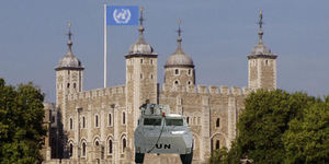 Tower of London needs UN protection?