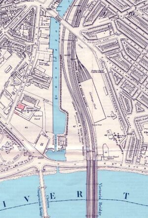 The Grosvenor Canal in 1869