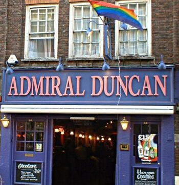 The Admiral Duncan Pub in Soho