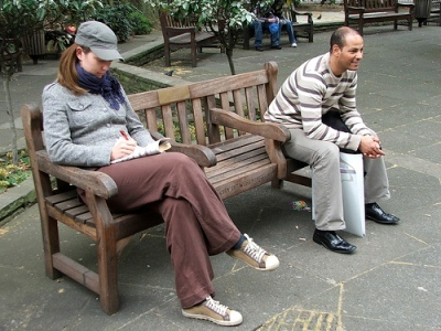 Londonist Loves...A Bench in Soho Square