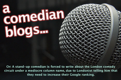 A Comedian Blogs