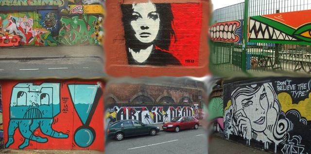Random Graffiti of the Week: Sclater Street