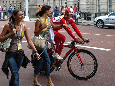 Tour de France: Review from the QEII