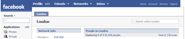 London Loves Facebook