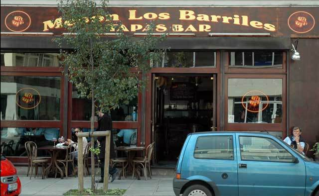 What's for Lunch?  Meson Los Barriles