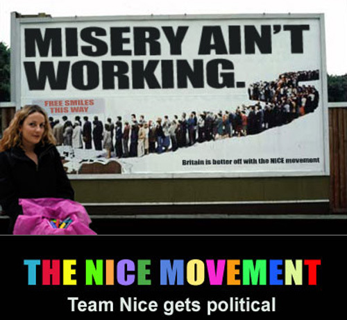 Team Nice Gets Political