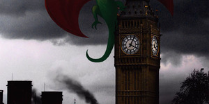 Touch Up London #67: Dragons!