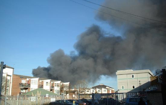 Breaking News: Fire In East London