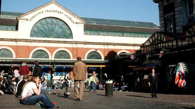 London Transport Museum Reopens