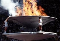 Olympics Burn Green