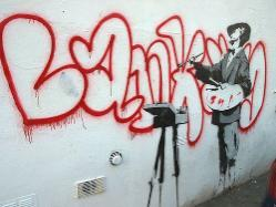 Banksy's Penis Half Removed