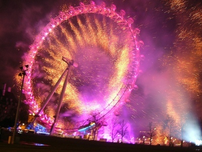 New Year Fireworks (and other stuff) in London