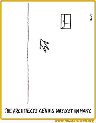 Architect's genius