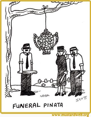 Funeral Pinata
