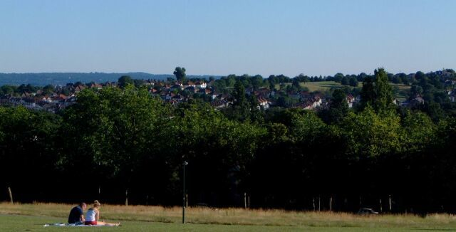 View from Hilly Fields