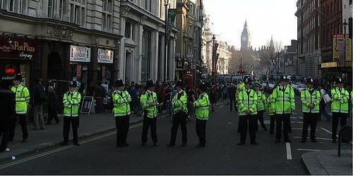 Thieving Philatelics And The Protesting Police
