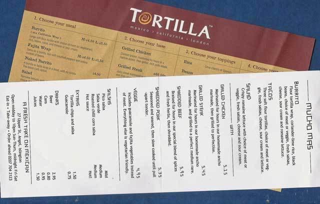Mucho Mas VERSUS Tortilla