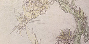 An illustrated sketchbook by Austin Osman Spare