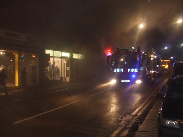 Breaking News: Camden Market on Fire