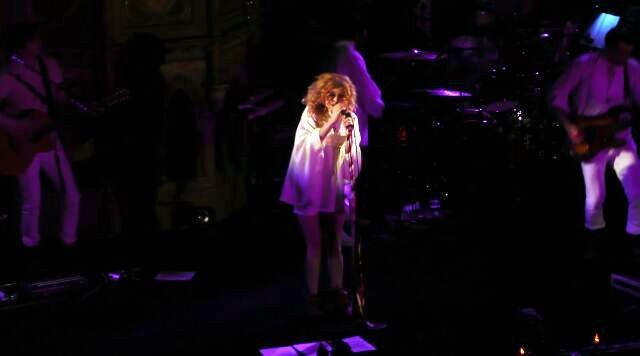 Goldfrapp at the Union Chapel