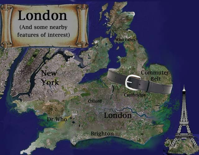 how Londoners view the world