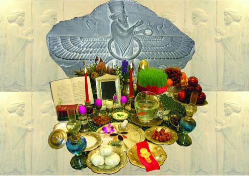Nowrooz-et-an Pyruz. And a Happy New Persian Year to you!