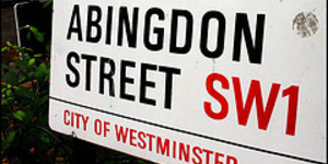 Westminster Copyrights Its Street Signs