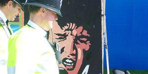 Elvis Returned to Britain, Address Unknown, No Such Number, No Such Zone