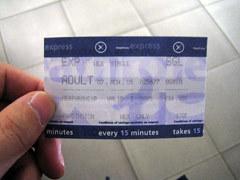 Heathrow Express ticket