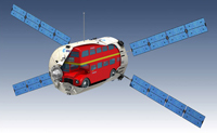 London Red Bus In Space: Not An April Fool
