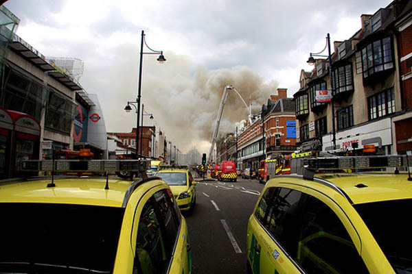 Fire In Brixton
