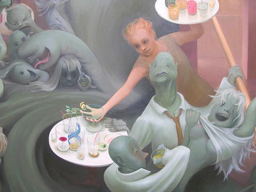 Review: Inka Essenhigh @ Victoria Miro Gallery