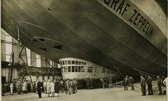 Zeppelin Returns To London Skies